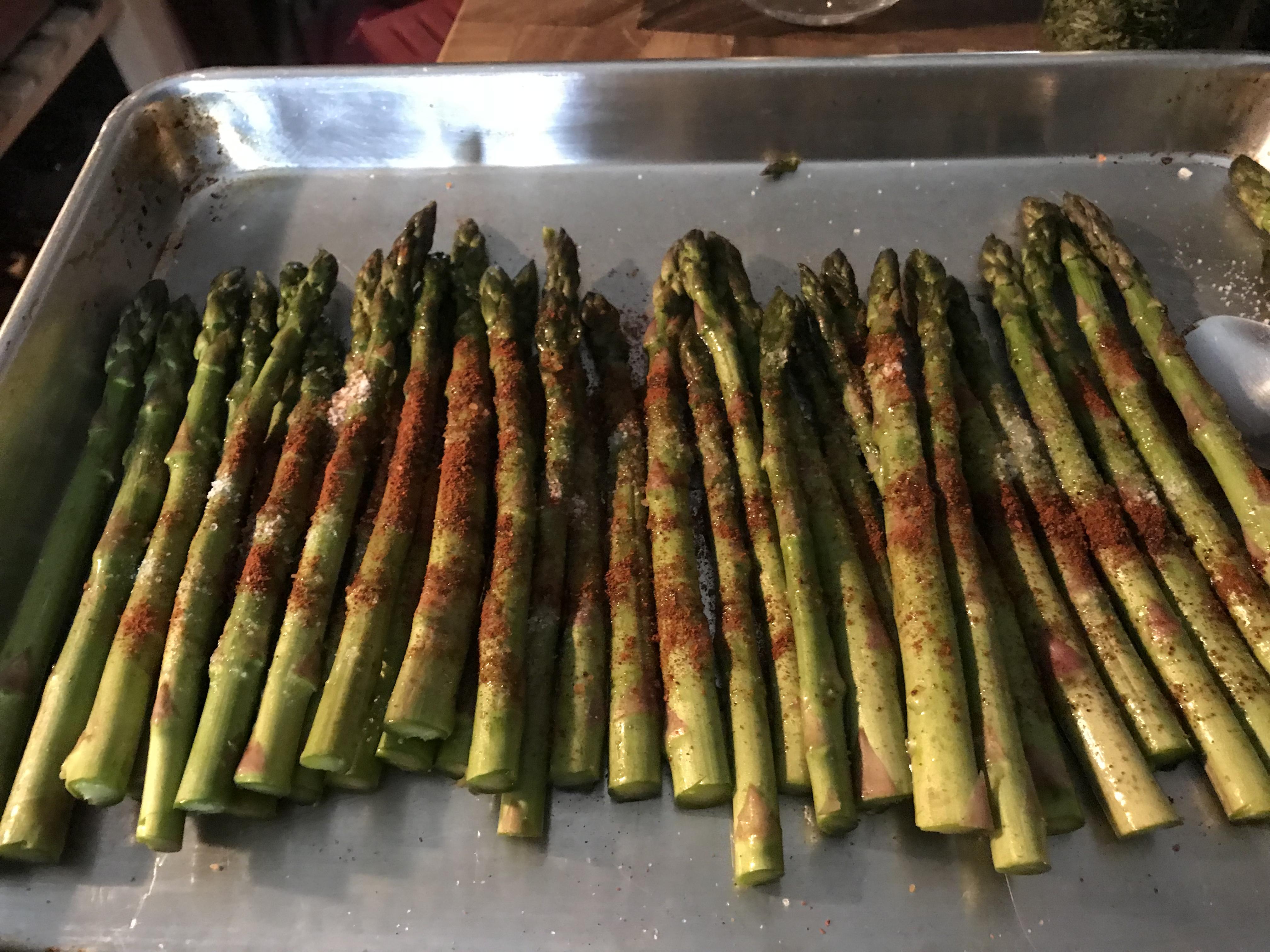 Mocha Chili Spiced Roasted Asparagus (1)