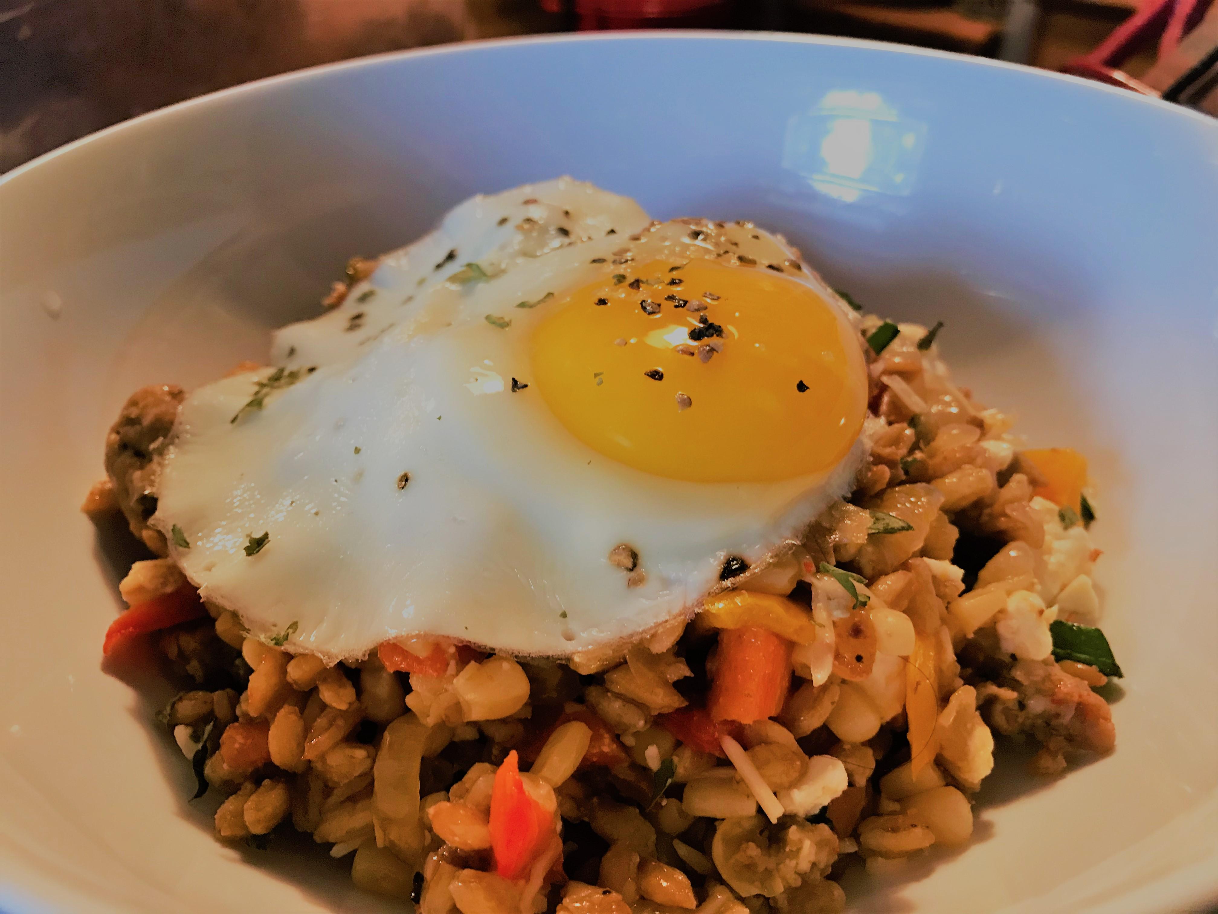 Farro Breakfast Bowl (3)