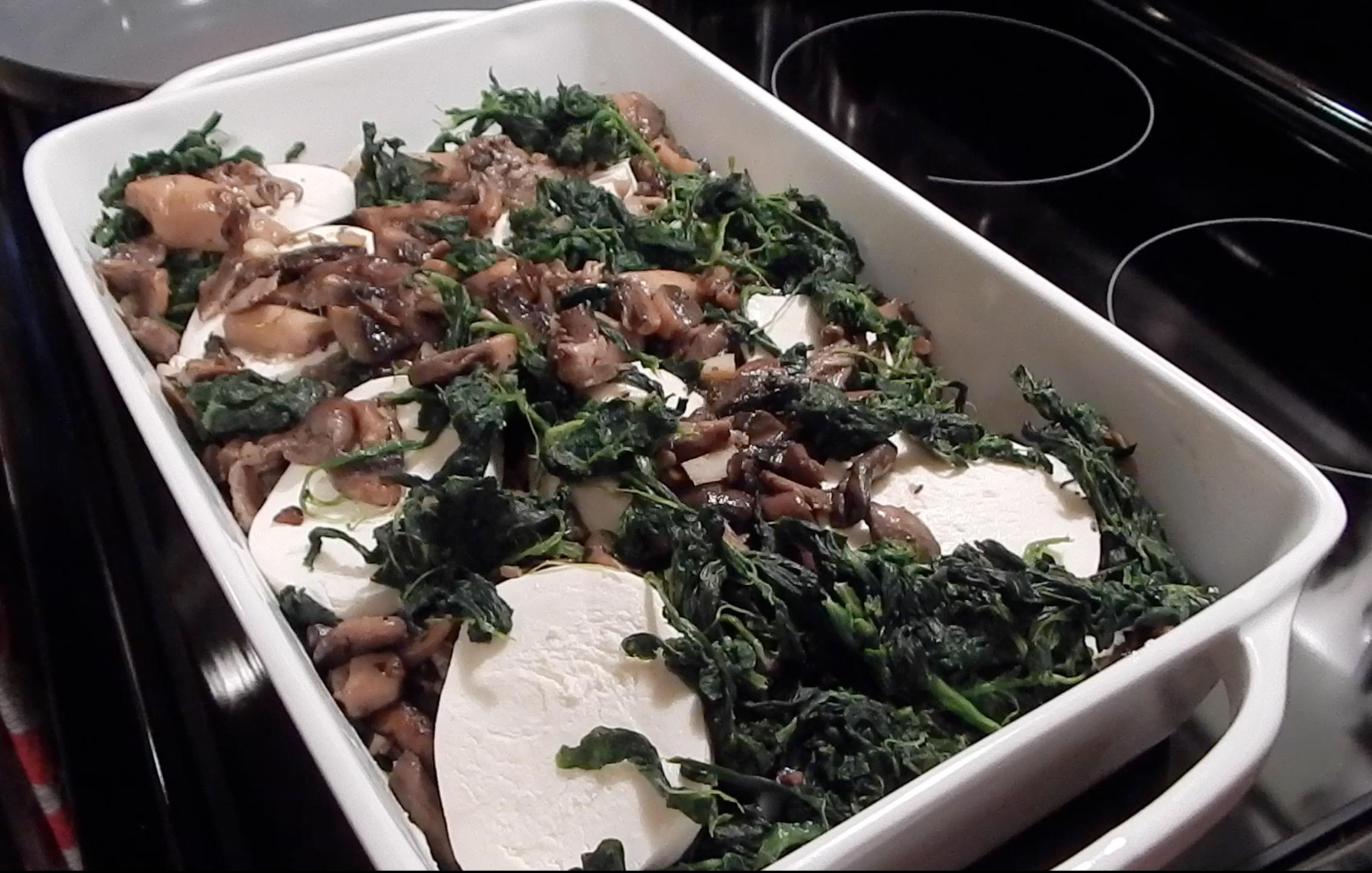 Wild Mushroom And Spinach Lasagna (3)