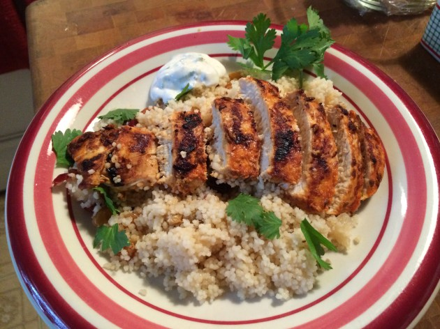 Grilled Red Curry Chicken