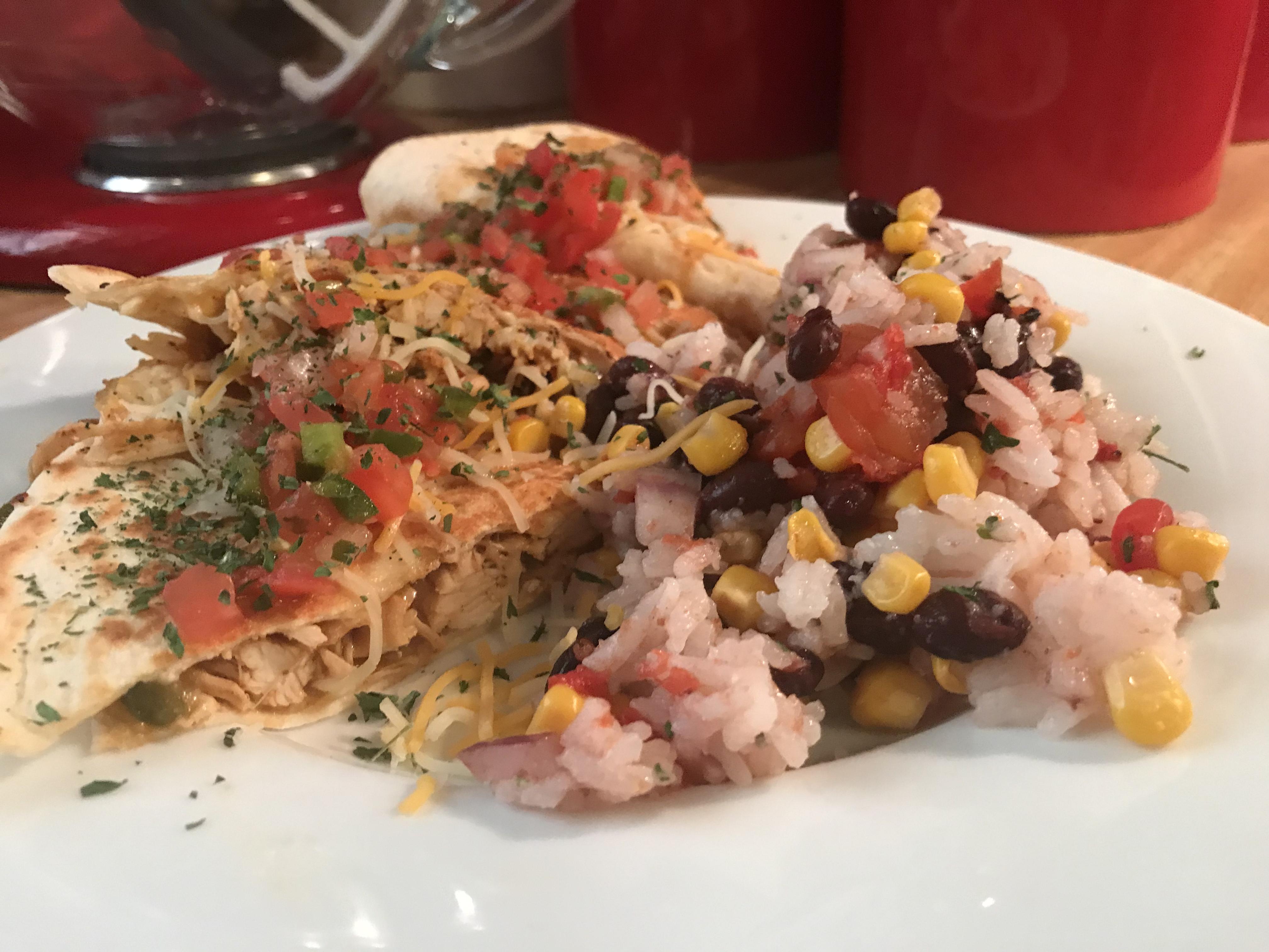 Chicken Quesadillas (3)