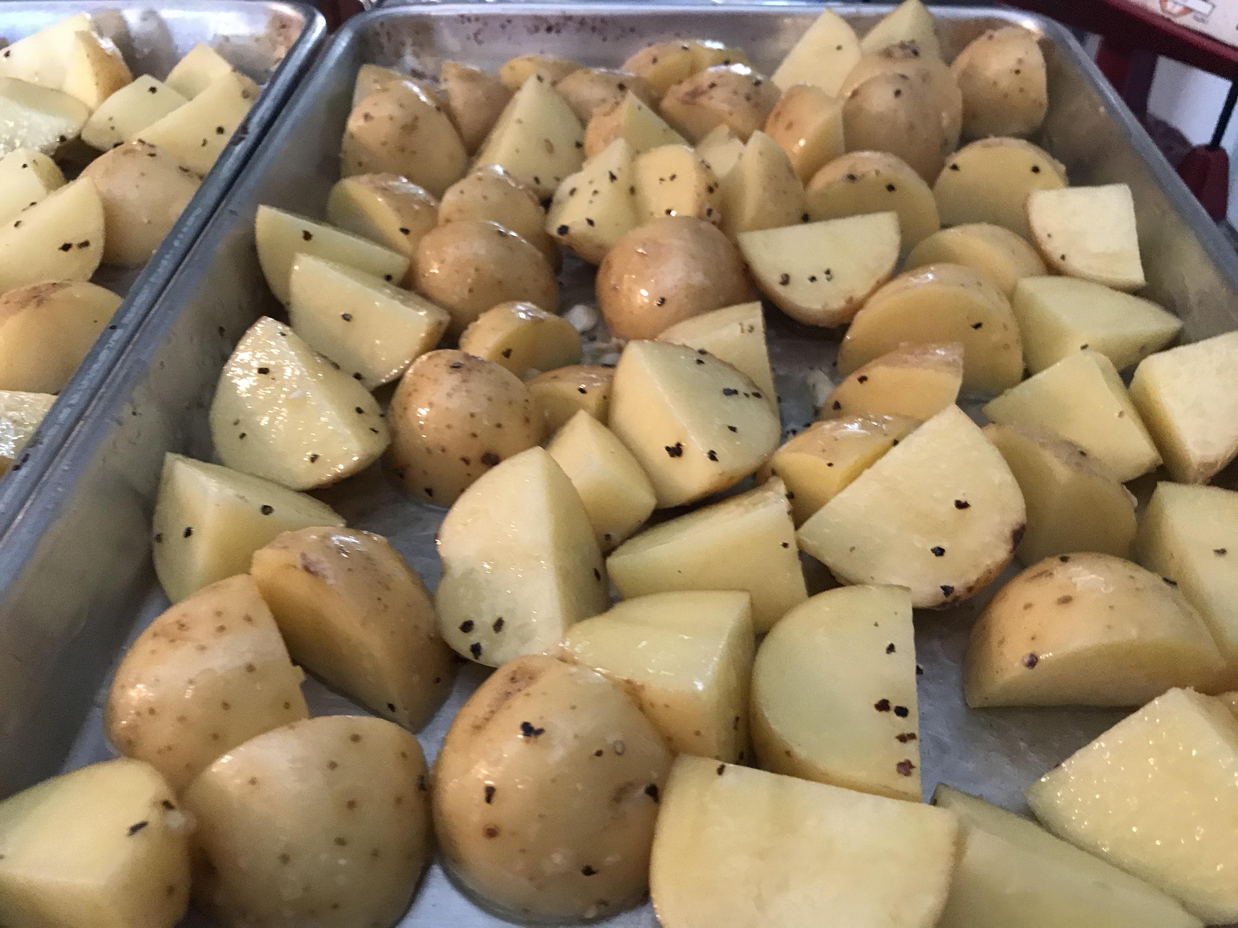 Garlic Roasted Potatoes (2)