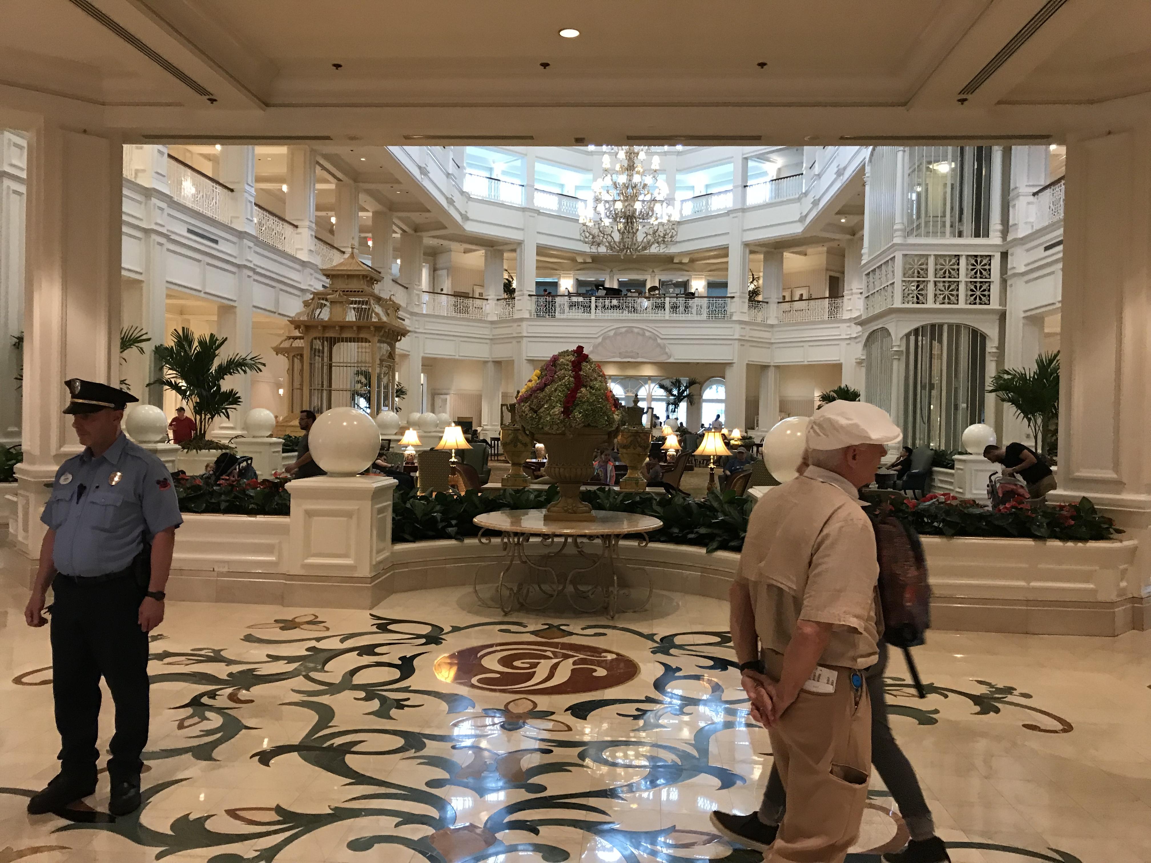 Grand Floridian Resort- High Tea (2)
