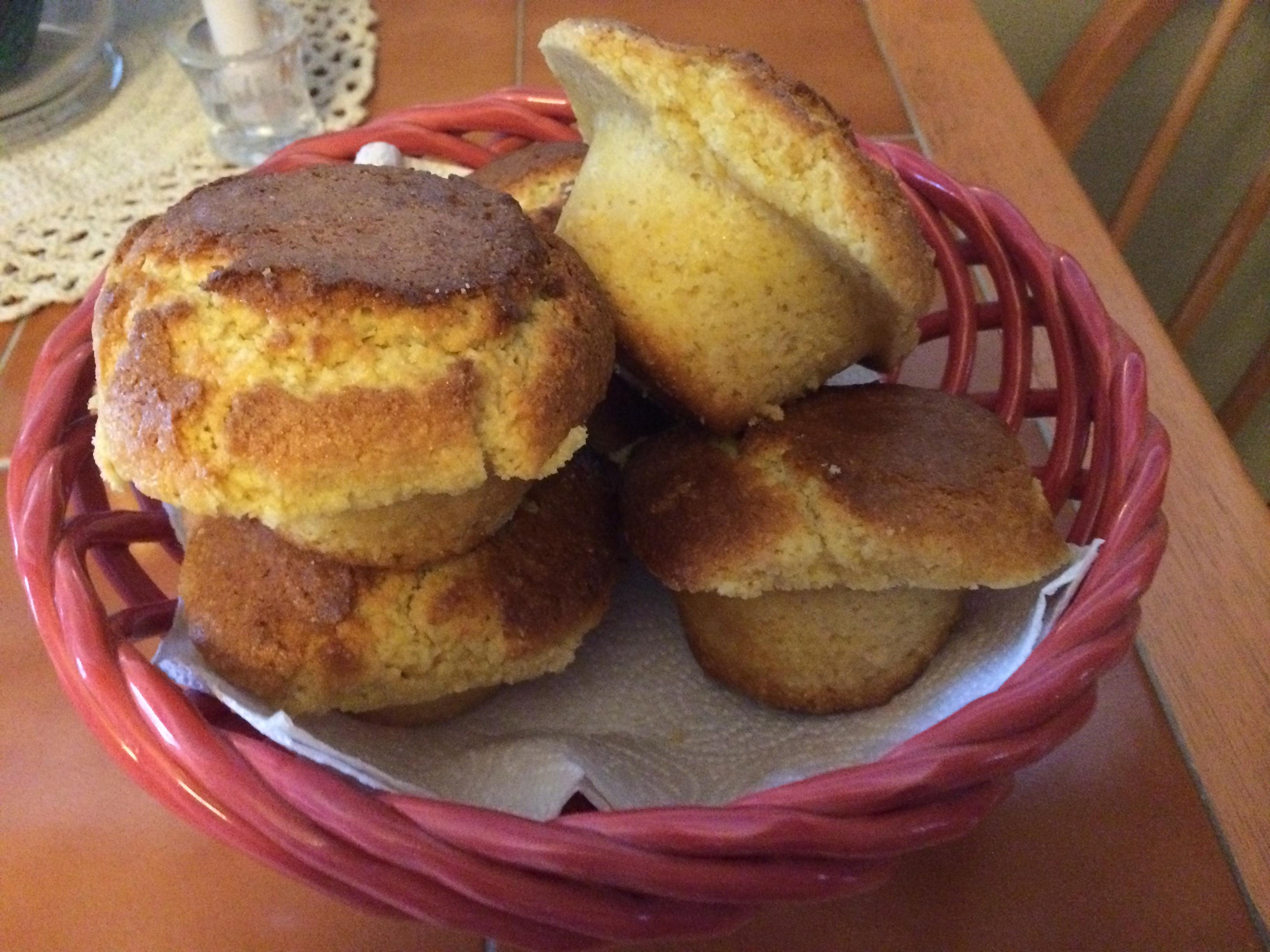 Jumbo Honey Corn Muffins