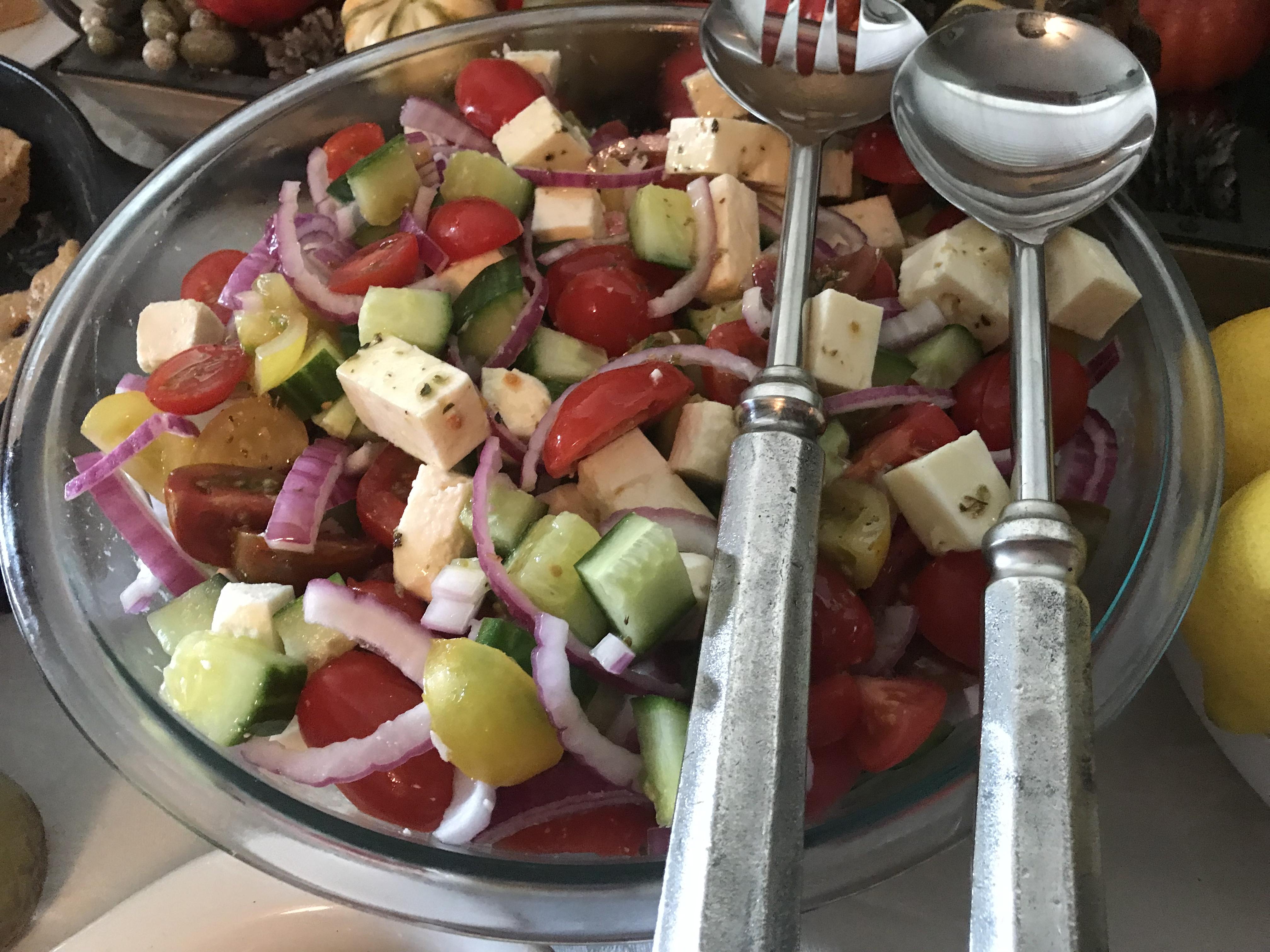 Greek Village Salad (2)