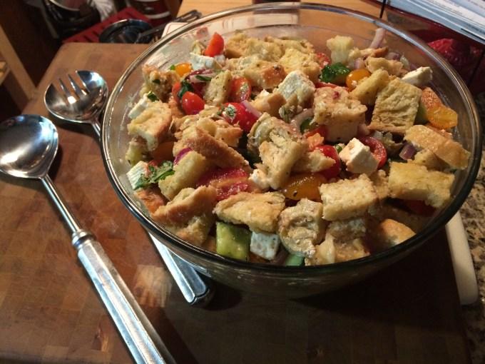 Panzanella Salad (2)