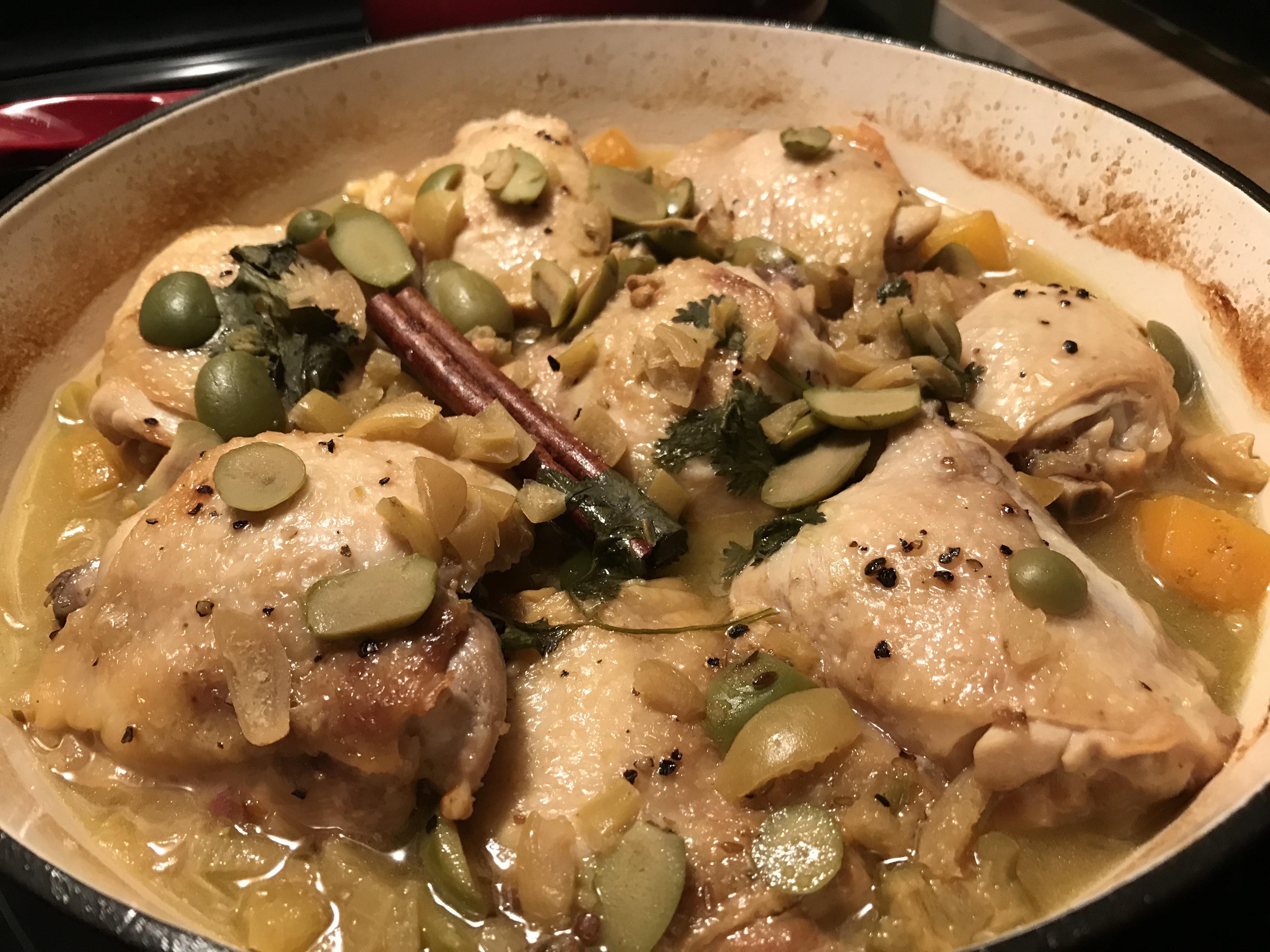 Chicken Tagine (2)