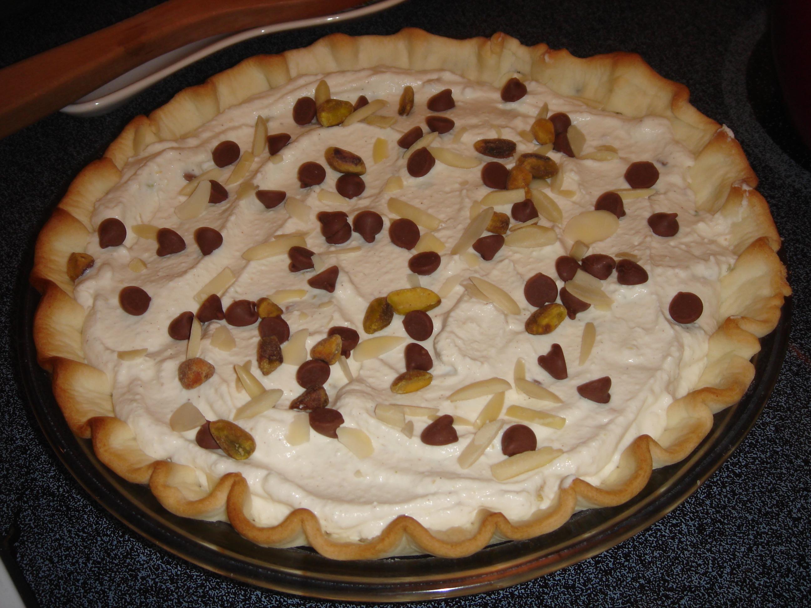 Cannoli Pie