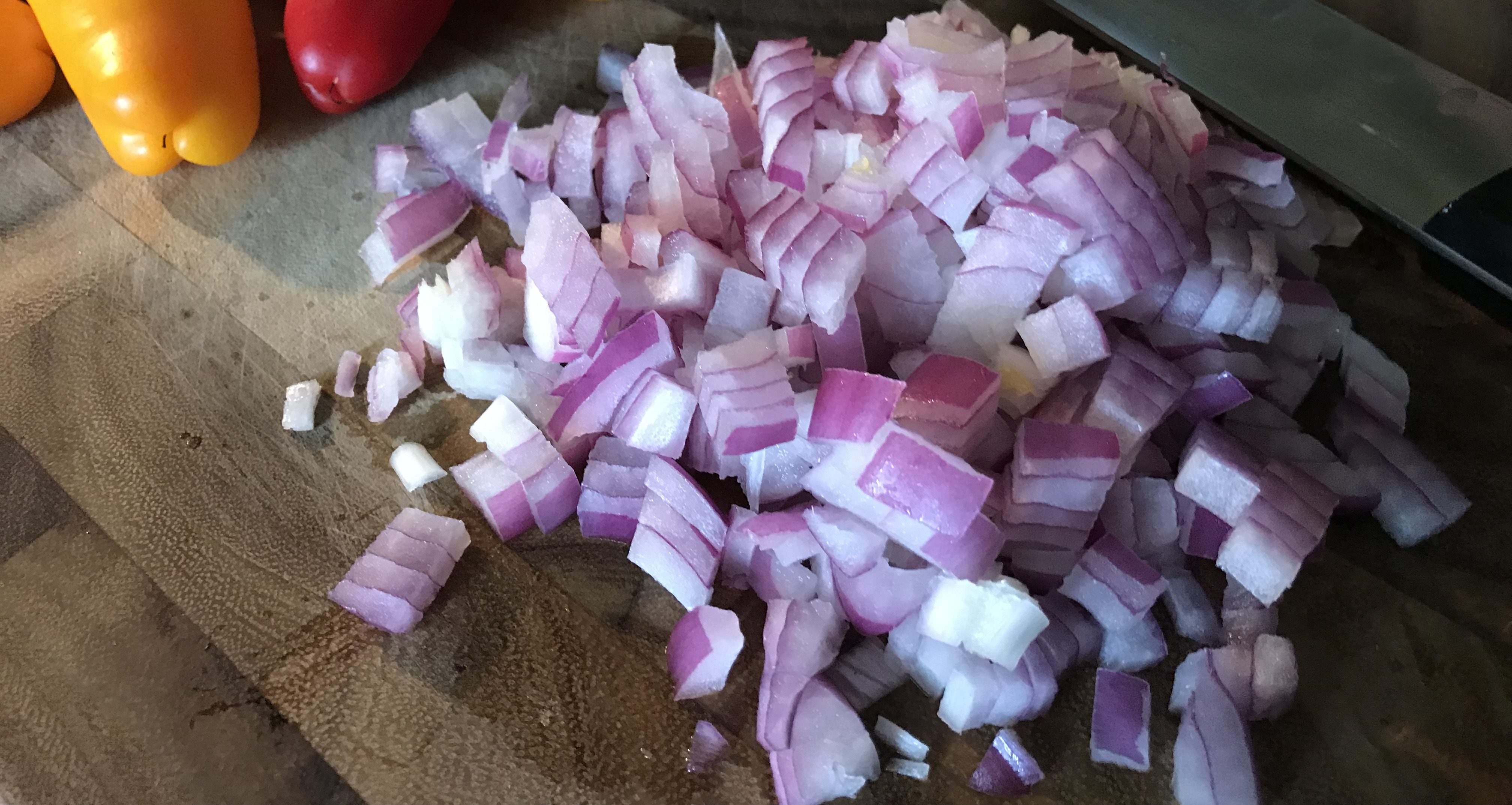 Diced Red Onion (2)