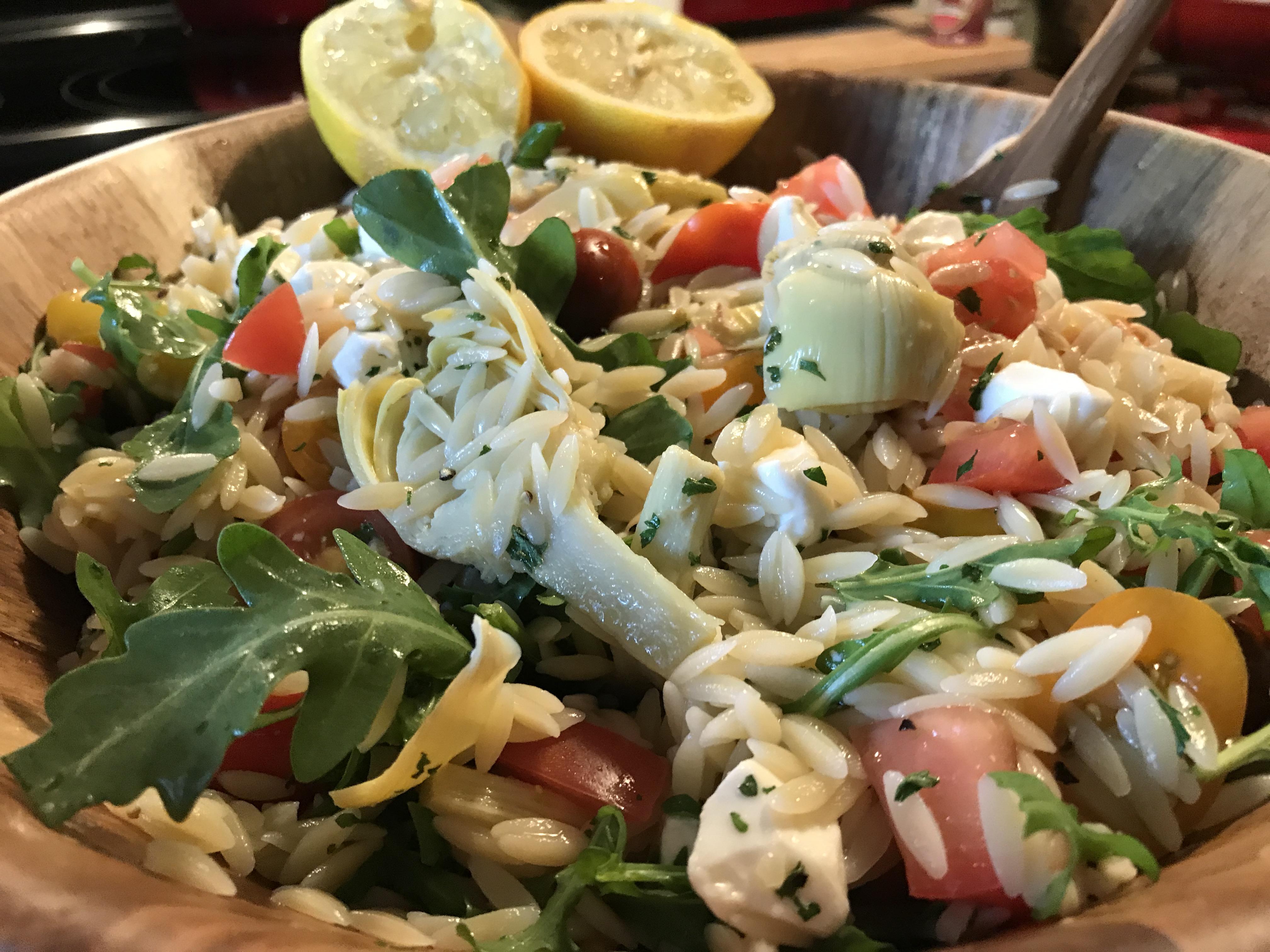 Orzo And Heirloom Tomato Salad (2)