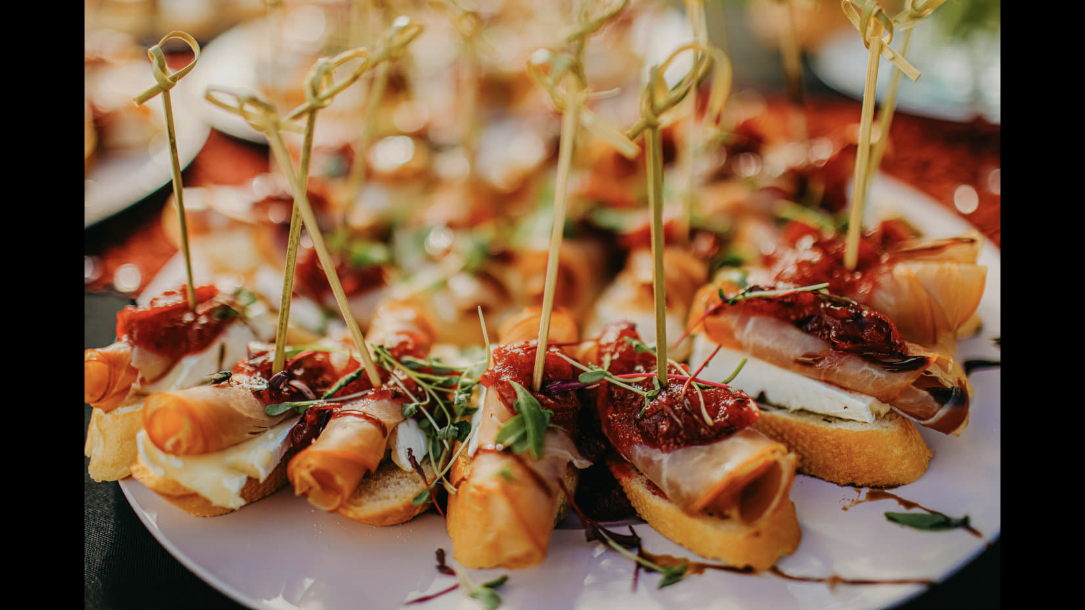 Proscuitto And Brie Crostinis