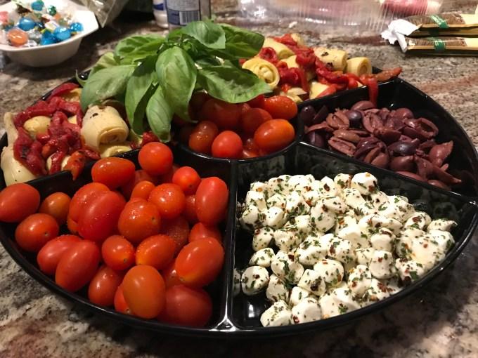 antipasto-platters